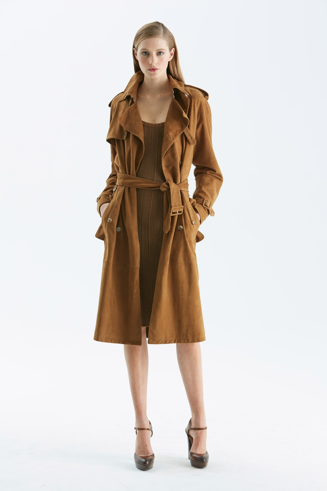 via fashioned by love | Ralph Lauren Pre-Fall 2015 | camel trends | 2015