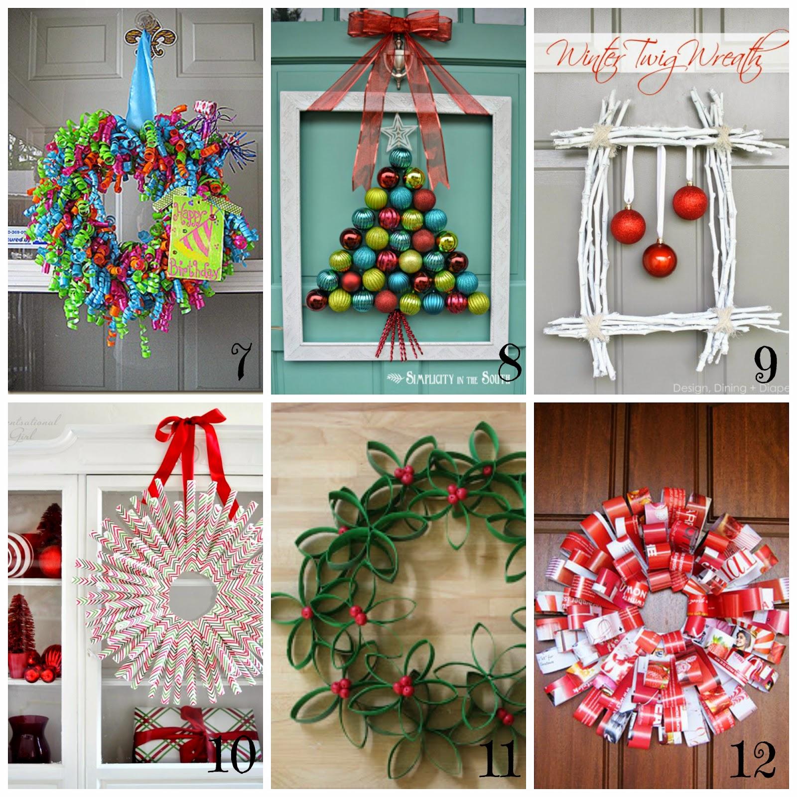 Ghirlande di natale fai da te 12 tutorial semplici e - Pacchetti natalizi fai da te ...