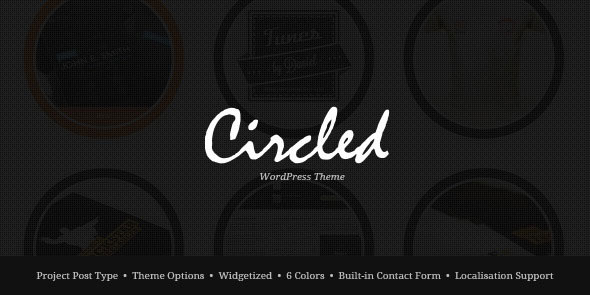 Image for Circled – Portfolio Theme by ThemeForest