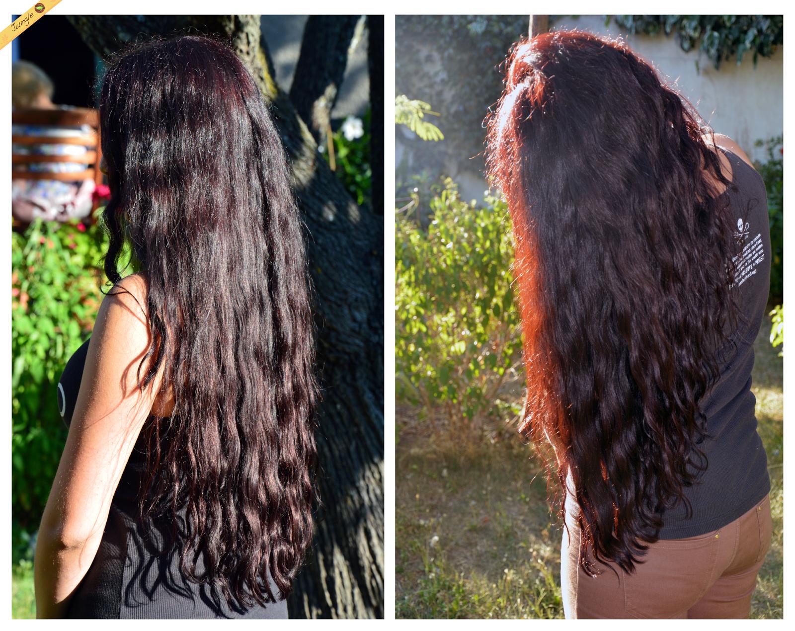 jungle 39 s hair de beaux cheveux au naturel mon henn brun grenat ou comment j 39 ai rechut dans. Black Bedroom Furniture Sets. Home Design Ideas