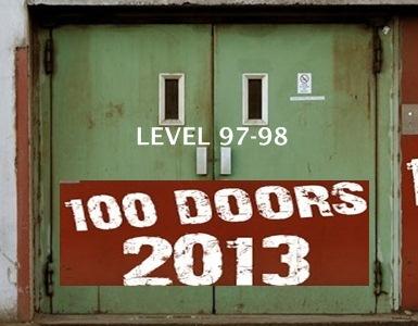Game 100 Doors 2013 Level 97 98 Walkthrough