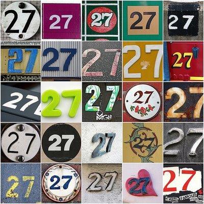 Sandra Barr Twenty Seven 27 Nine 9