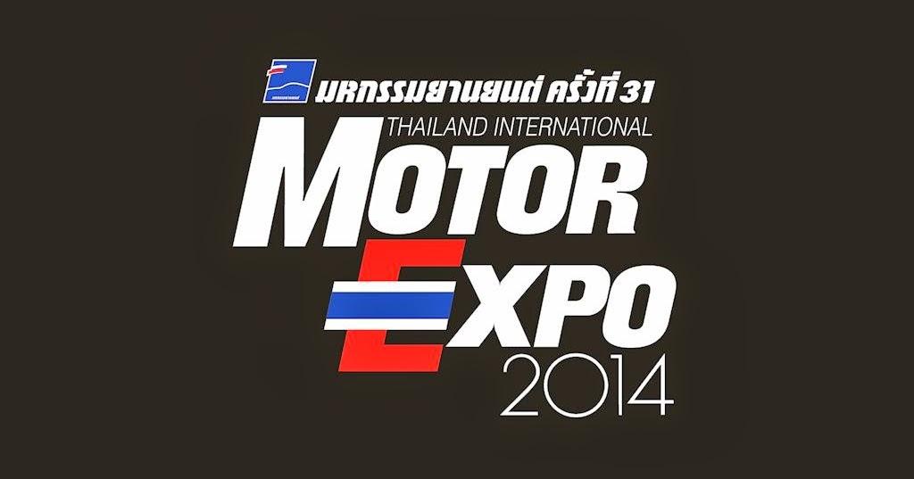 Thailand Motor Expo 2014: 31st Thailand Motor Expo 2014