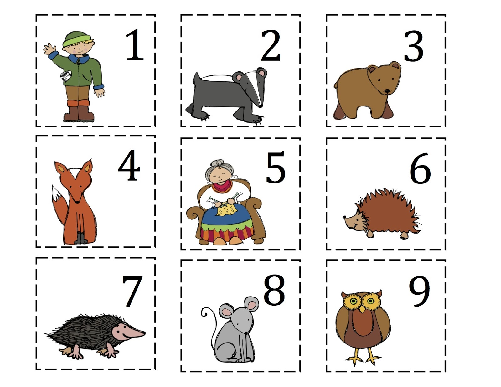 "Search Results for ""Jan Brett The Mitten Characters"" – Calendar ..."