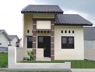 rumah minimalis type 45 on Rumah Minimalis Type 45/187 Halaman Luas - Rumah Minimalis di Taman ...