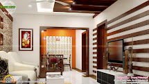 Living Room Interior Design Kerala Style