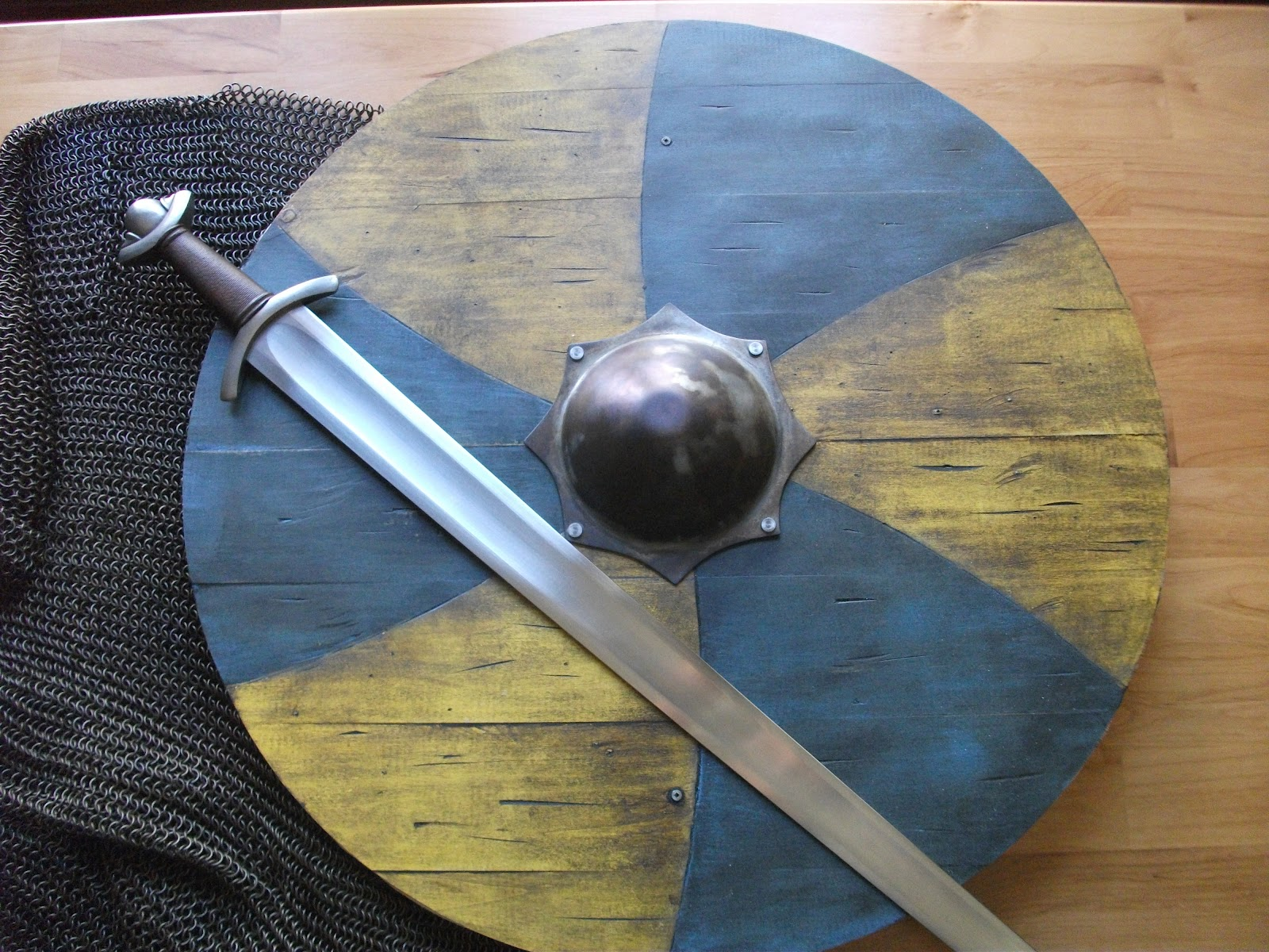 MixedMartialArtsAndCrafts Viking Shield III