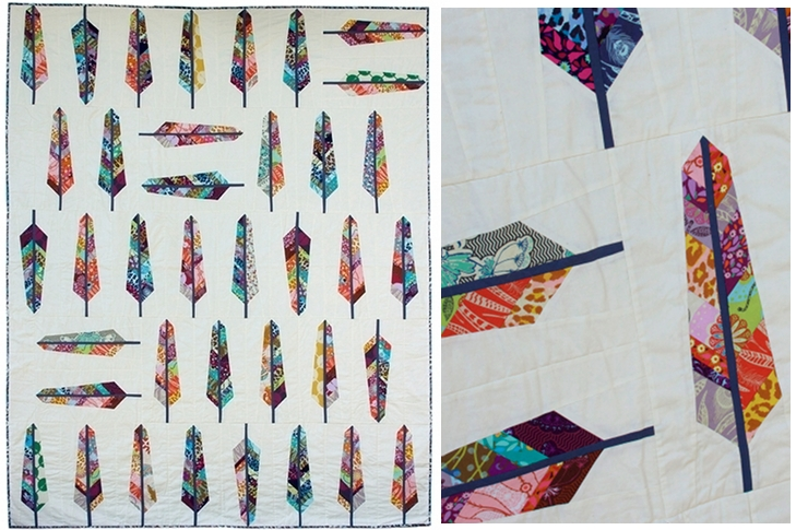 Field Study by Anna Maria Horner is available now! | FabricWorm : feather quilt pattern - Adamdwight.com