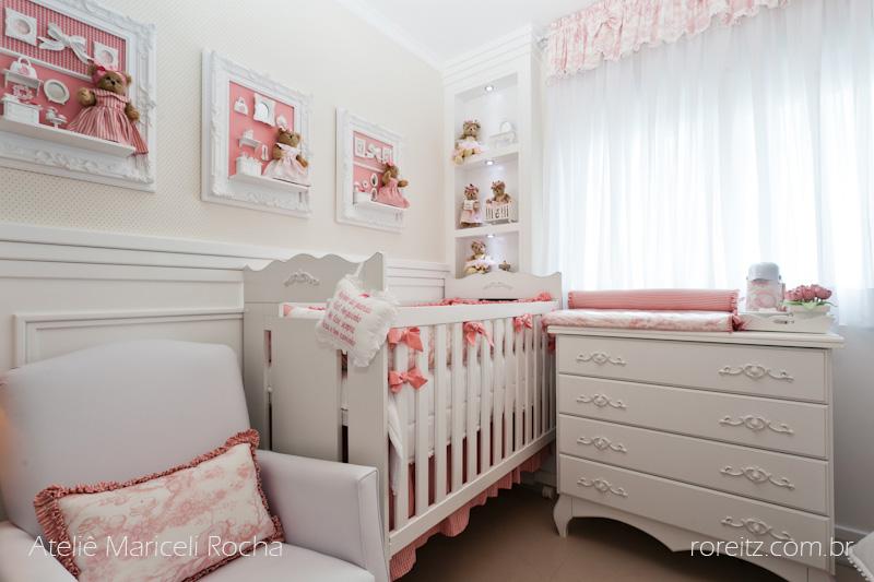 Ateliê Mariceli Rocha Quarto de Bebê Provençal
