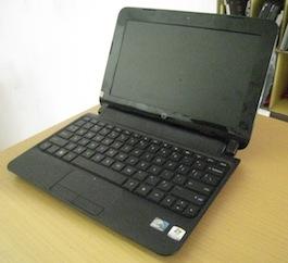 jual netbook seken hp mini 110-3500