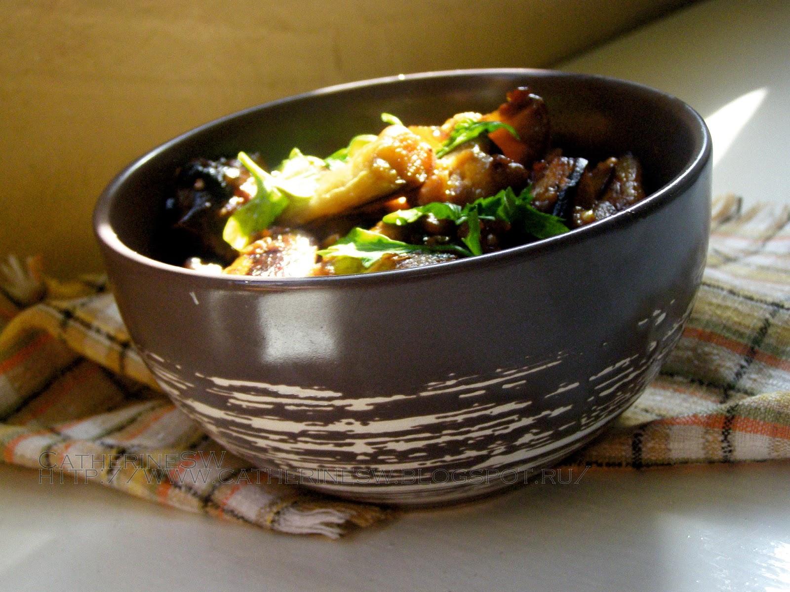 Рецепт баклажанов по-китайски