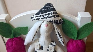 Un conejo de tela llamado Orejas