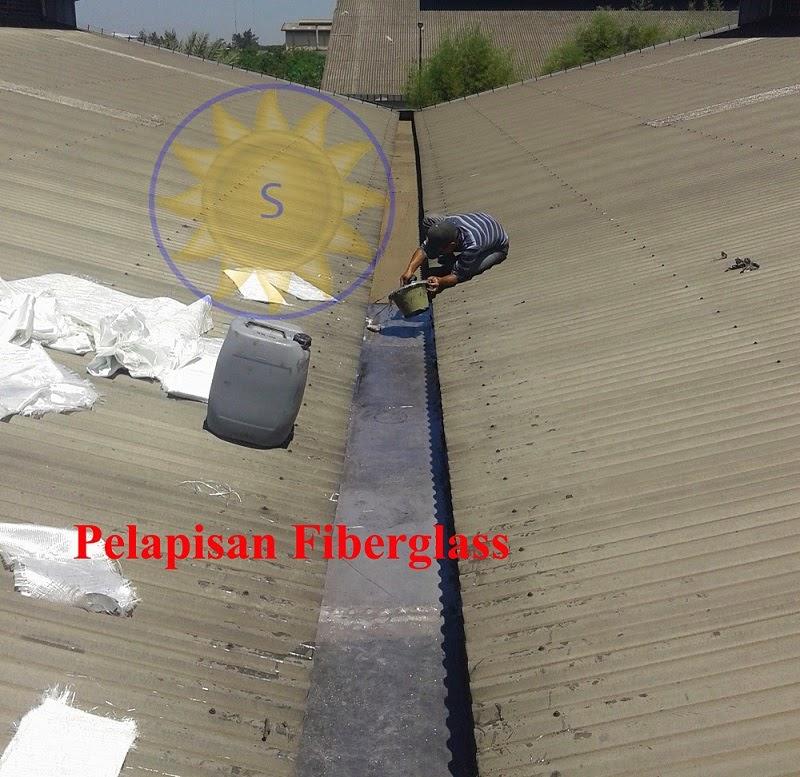 pelapisan fiberglass