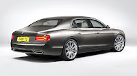 The All-New Bentley Flying Spur rear side