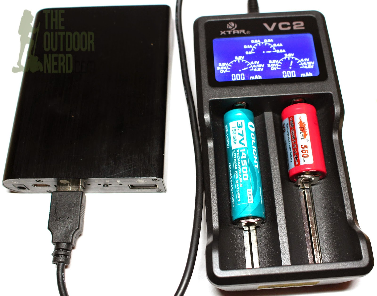 XTAR VC2 Lithium-Ion USB Charger - Product View 4