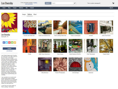 My On-Line Print and Accessory Gallery