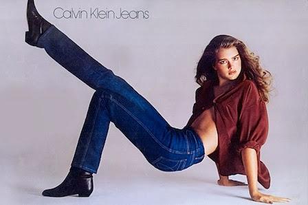Publicité de CK jeans