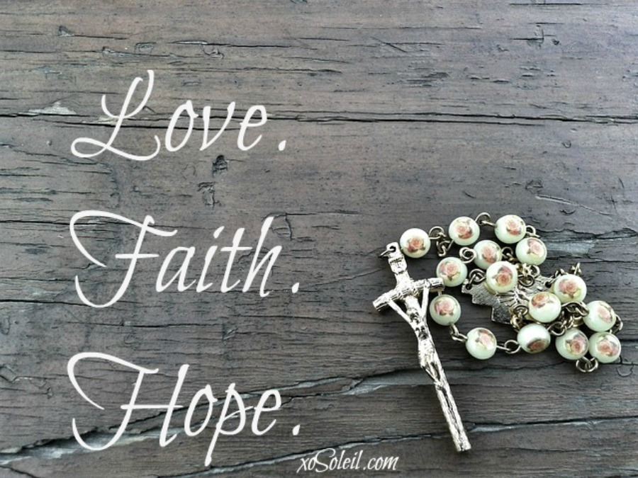 Finding Love. Building Faith. Chasing Hope. | xoSoleil.com