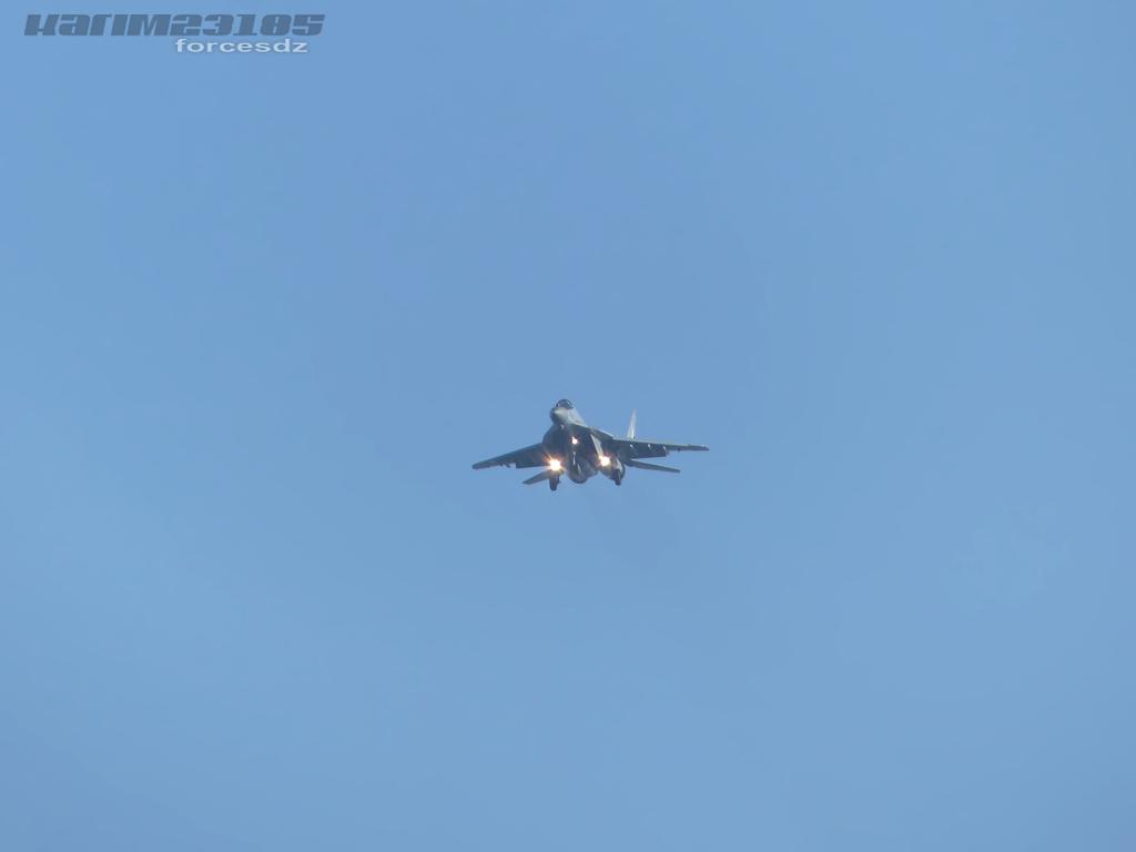 صور طائرات القوات الجوية الجزائرية  [ MIG-29S/UB / Fulcrum ] A