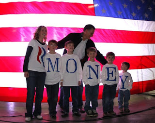 Mitt Romney Children Spell Money