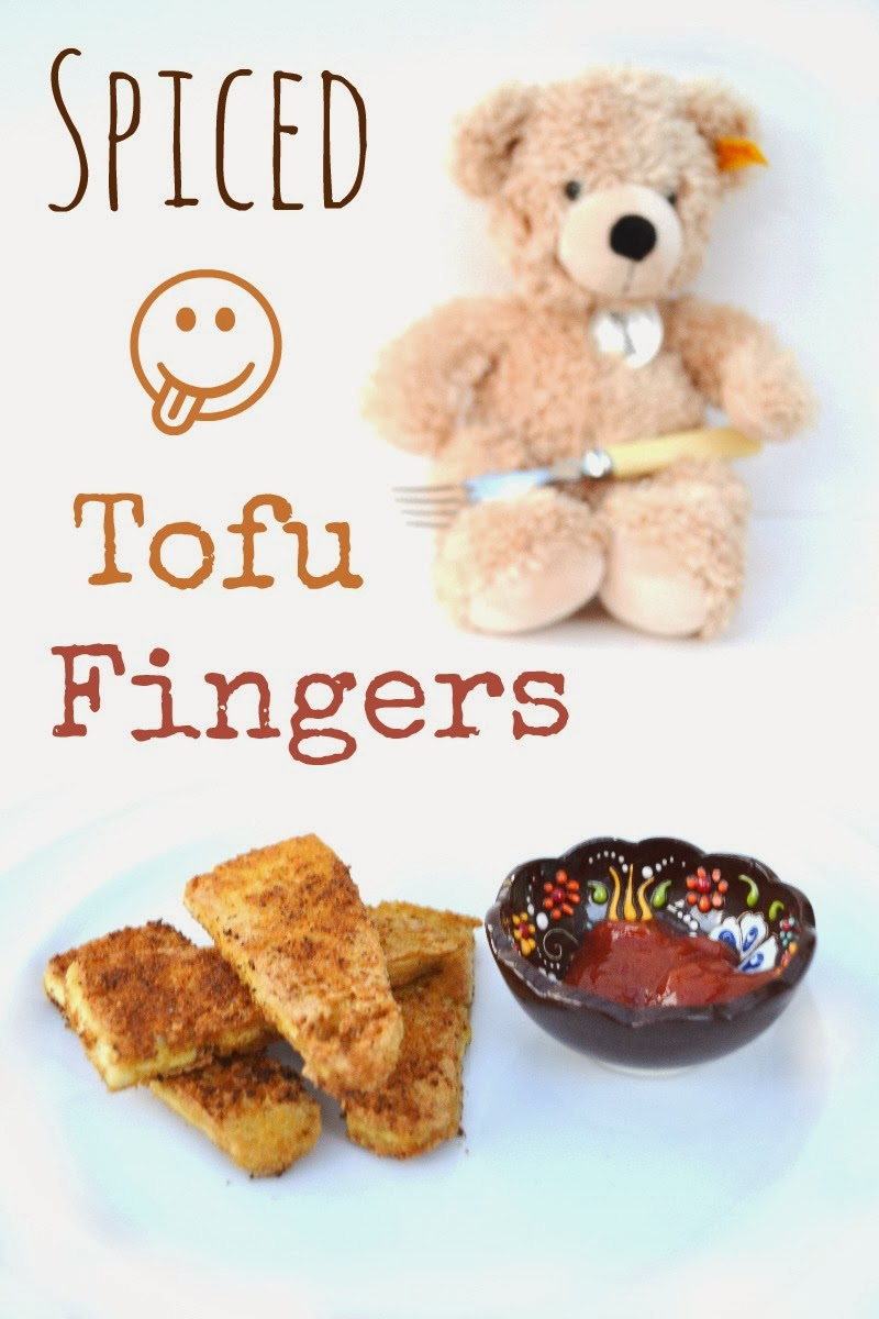 Spiced Tofu Fingers