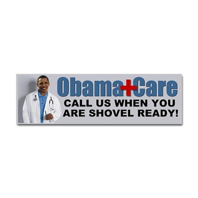 402228004v1 460x460 Front Color White Funny Pictures: Obama Bumper Stickers, Signs & Jokes