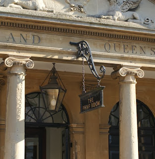 The entrance to the Pump Room, Bath