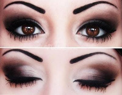 Como Pintar Los Ojos Ahumados Paso A Paso Muy Lindas Son - Paso-a-paso-como-pintarse-los-ojos