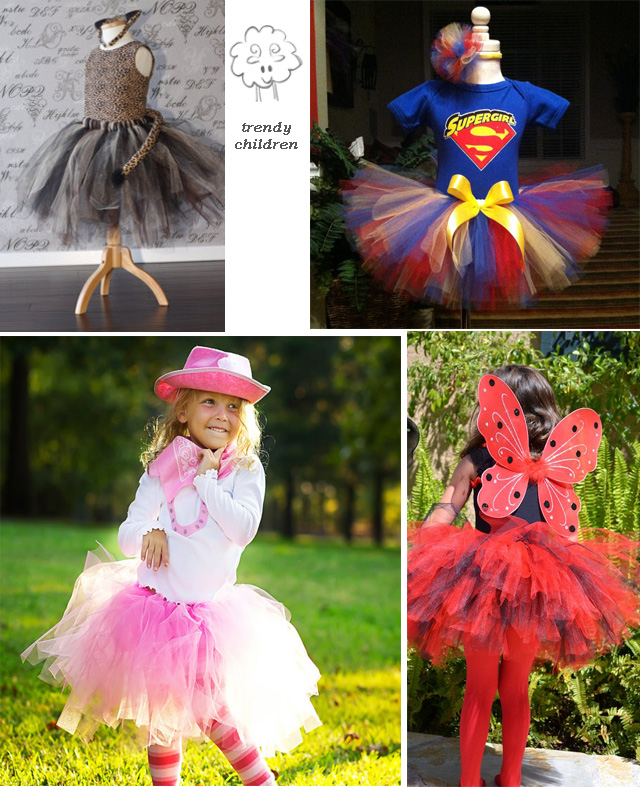 trendy children: CARNAVAL 2013, IDEAS MUY FÁCILES CON TUL