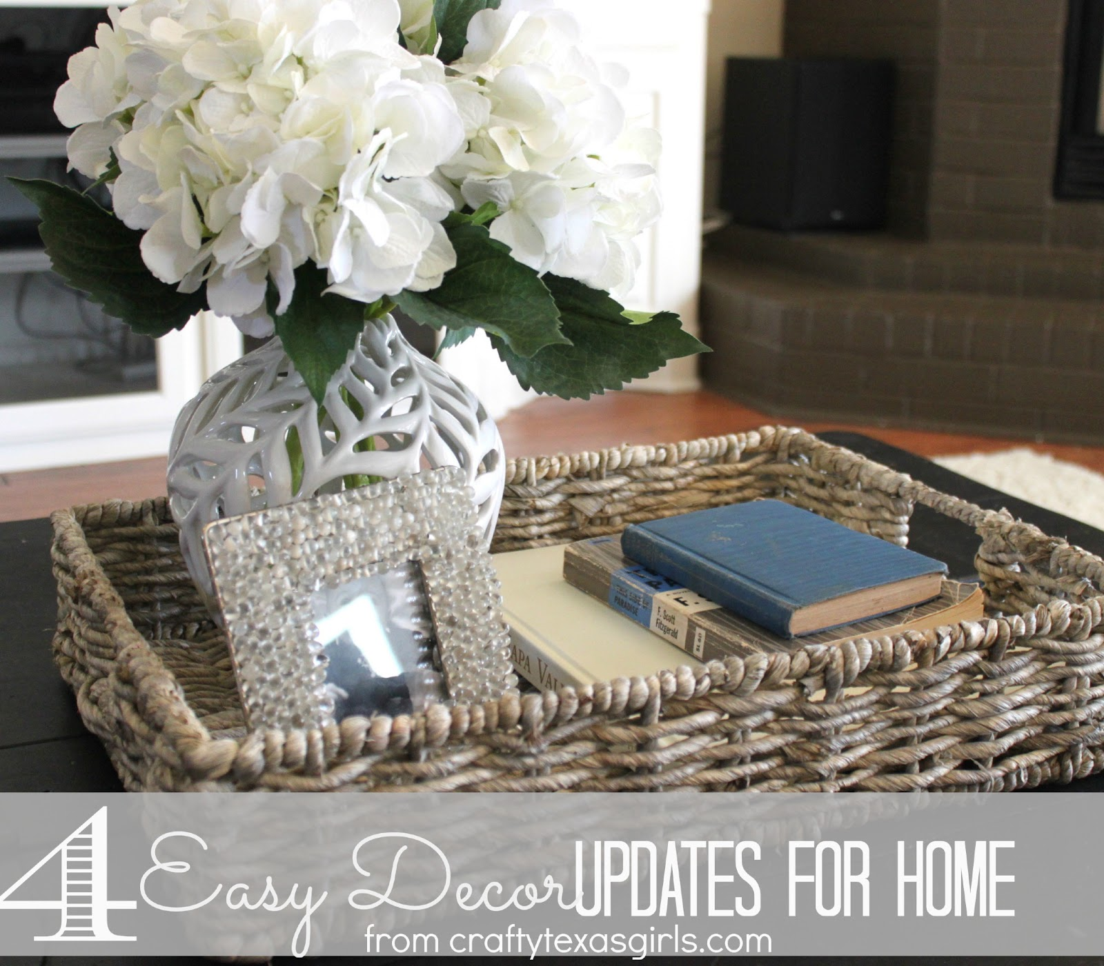 Fresh Home Decor Gift Ideas: Crafty Texas Girls: Home Updates: Easy Ideas For A Fresh Look