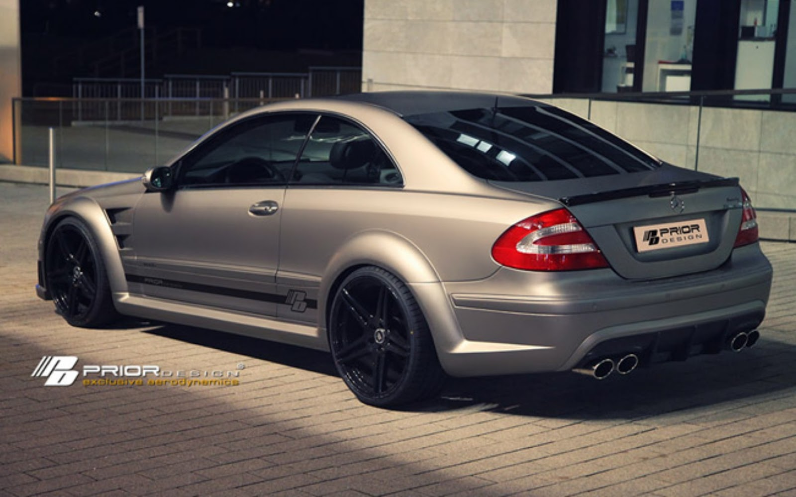 2013 mercedes benz clk pd black edition by prior design