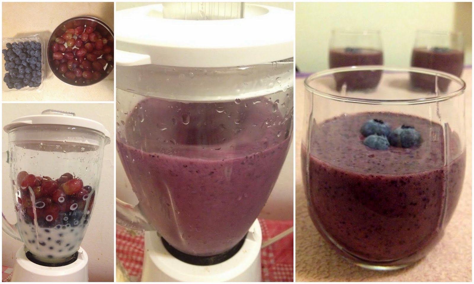 Blueberry Grape Smoothie