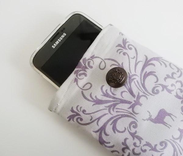 Couture : une pochette pour mon portable