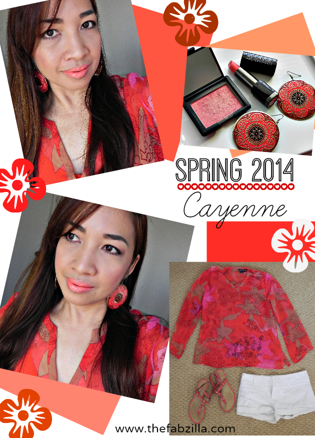 what to wear spring 2014 cayenne pantone, spring wear, summer wear, hawaii outfits