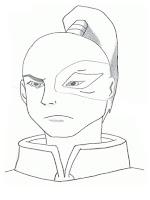 Mewarnai Gambar Wajah Pangeran Zuko