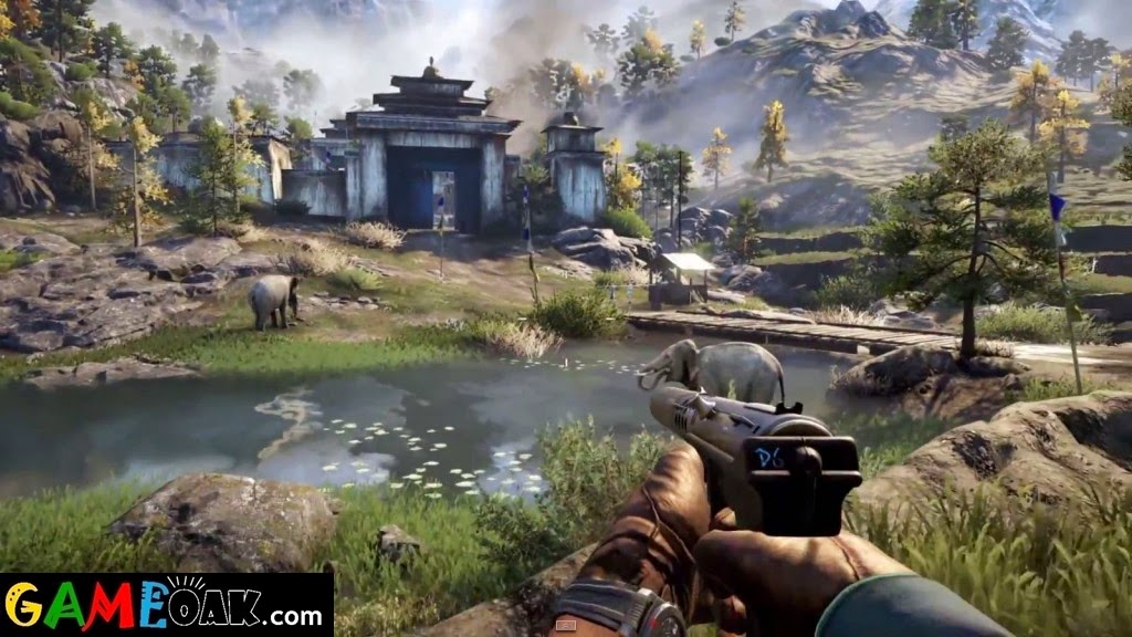 Far Cry 4 shooting during the game
