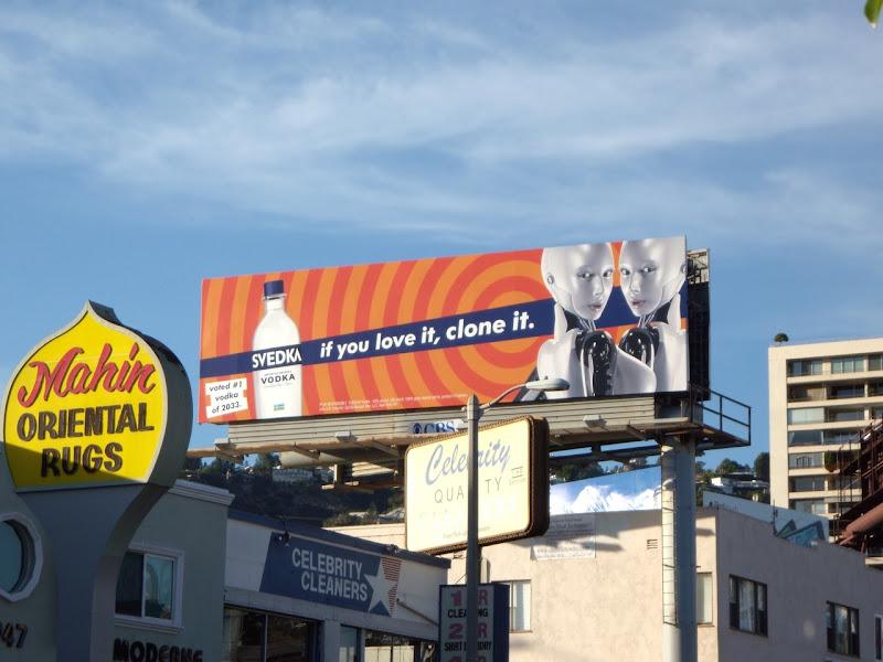 Svedka Vodka clone it billboard