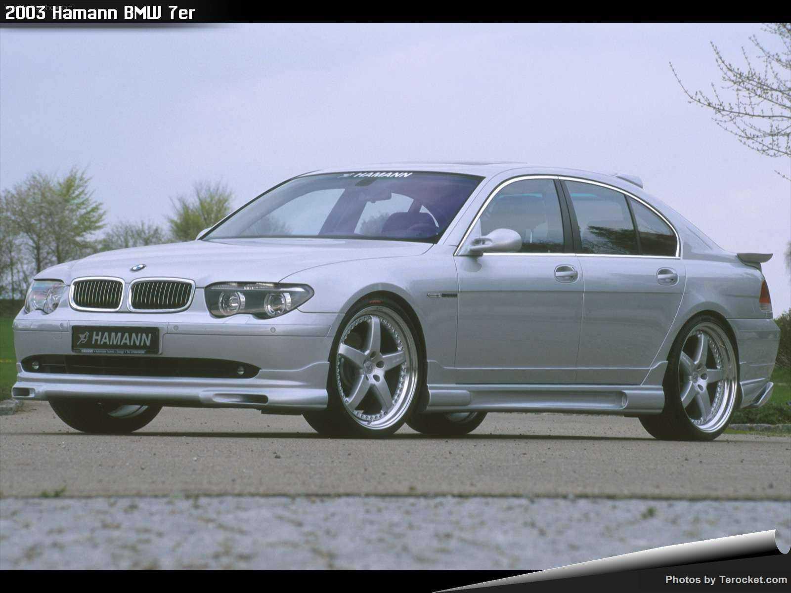 Hình ảnh xe ô tô Hamann BMW 7er 2003 & nội ngoại thất