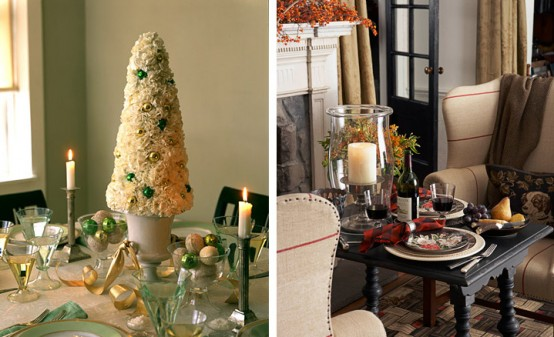 Creative Christmas table decorating picture 2