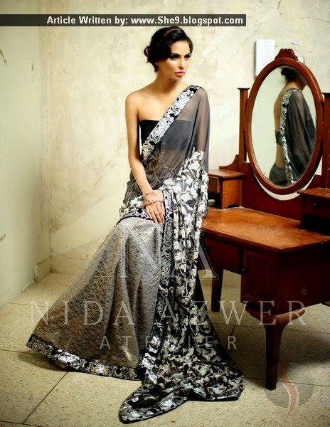 Designer Nida Azwer Collection 2015