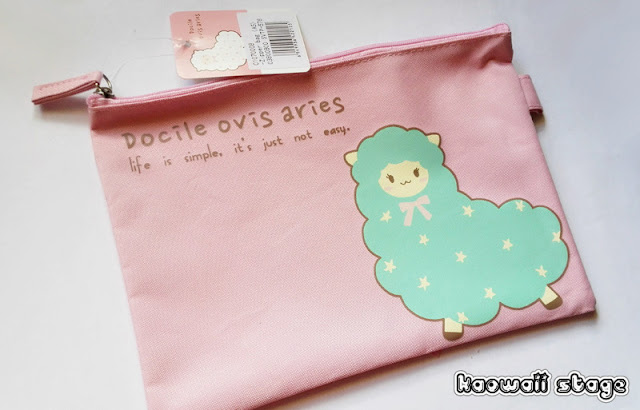 alpaca pouch bag