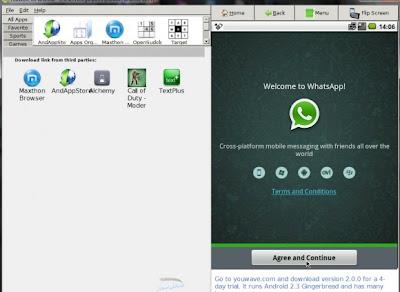 WhatsApp untuk komputer