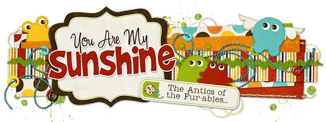 You are my Sunshine Blog Design