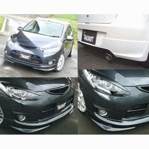Body Kit Mazda2 Tipe S Valiant
