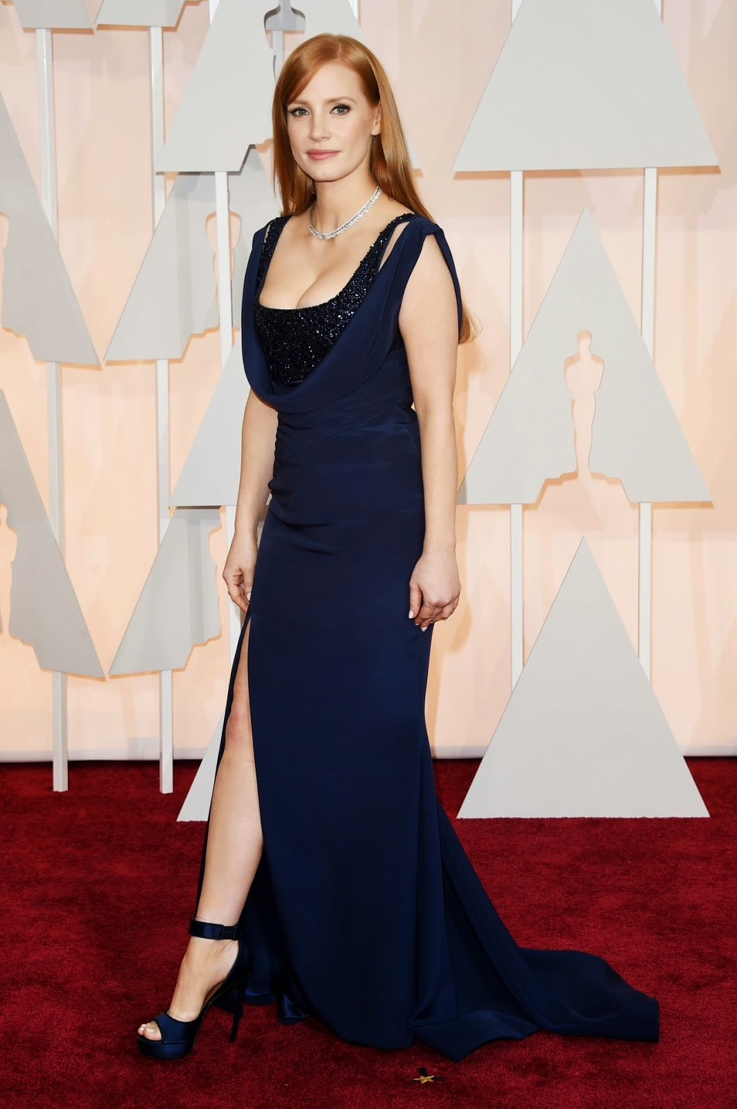Jessica Chastain – 87th Annual Academy Awards in Hollywood