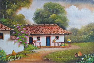 paisajes-fincas-de-pueblos-pintura
