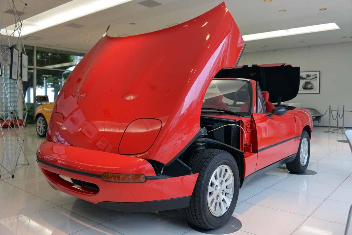 Mazda MX-5, Miata, prototype, Duo 101, concept, roadster, eunos