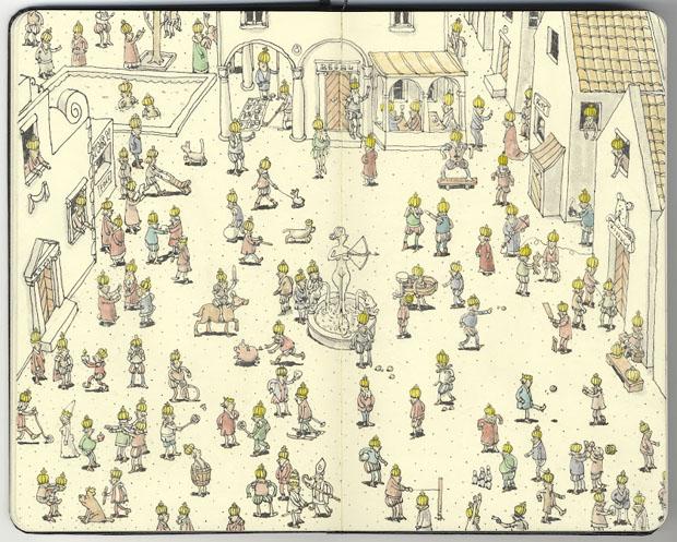 Mattias Adolfsson,dibujos,drawings,moleskine,suecia,sweden