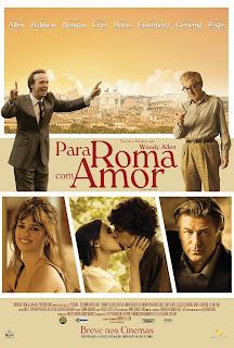 """Cartaz de """"Para Roma, com Amor"""""""