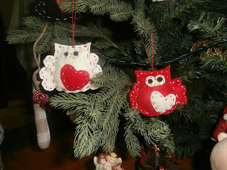 χριστουγεννιάτικη κουκουβάγια 2